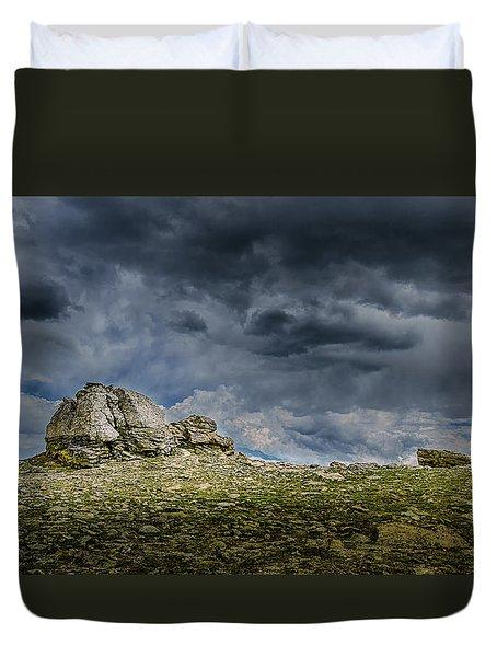 Stormy Peak 1 Duvet Cover