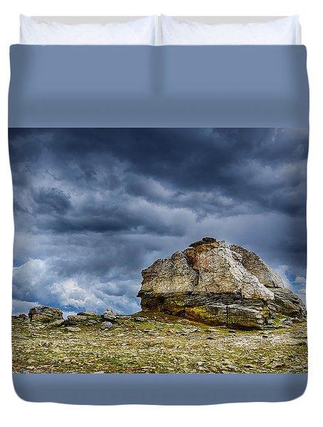 Stormy Peak 2 Duvet Cover