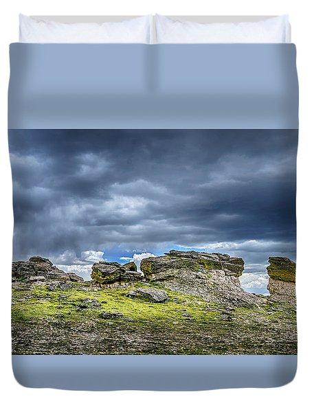 Stormy Peak 3 Duvet Cover