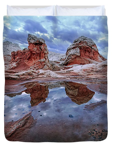 Stormy Reflection Duvet Cover