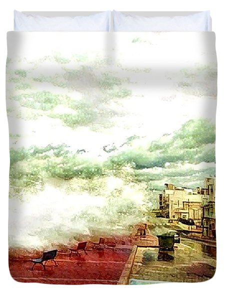 Stormy Sea Duvet Cover