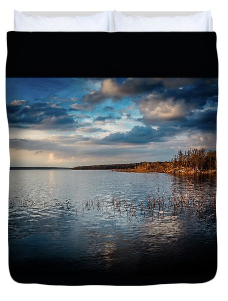 Stormy Sky Duvet Cover by Doug Long