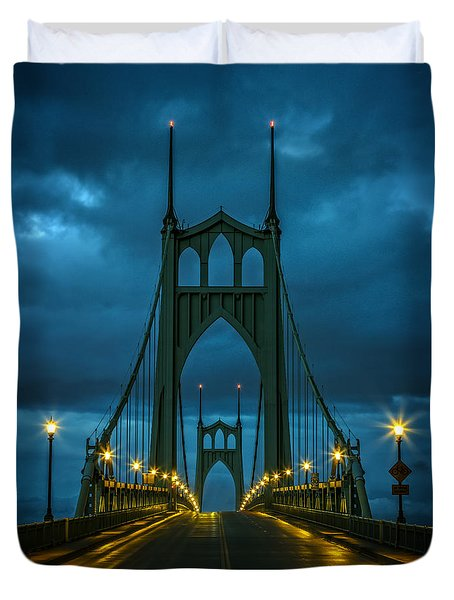 Stormy St. Johns Duvet Cover