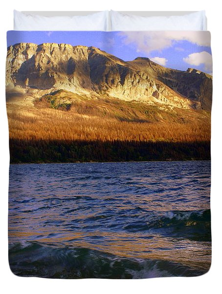 Stormy St Marys Duvet Cover by Marty Koch