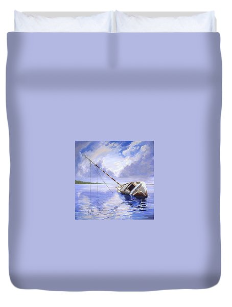 Stormy Summer Duvet Cover