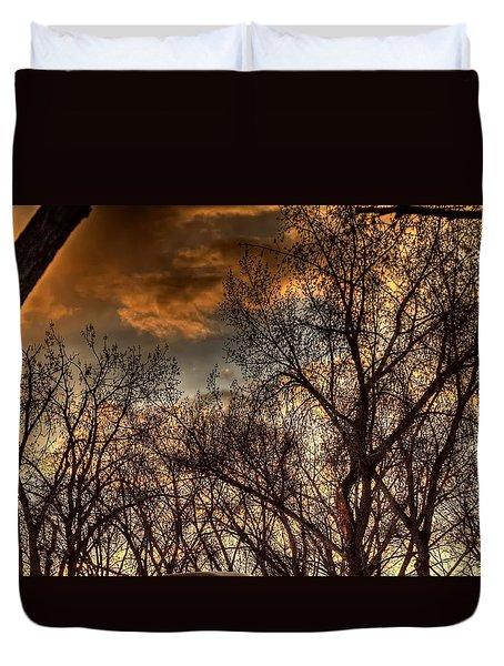 Stormy Sunset 14151 Duvet Cover