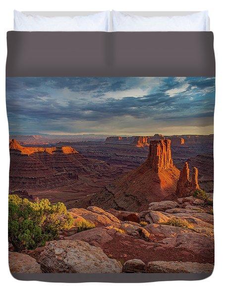 Stormy Sunset - Marlboro Point Duvet Cover