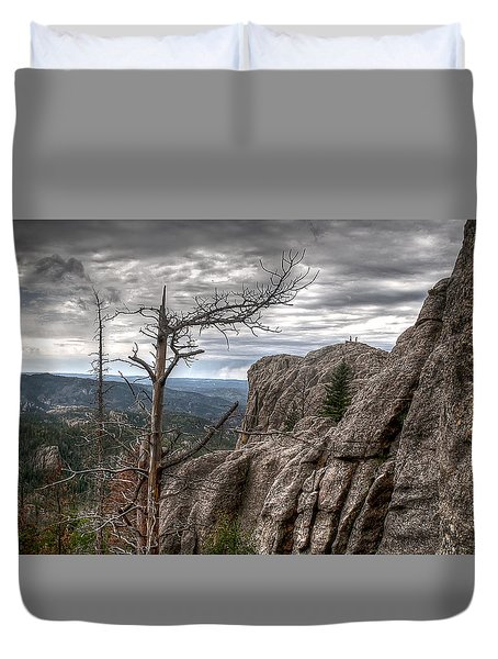 Stormy Trail Duvet Cover