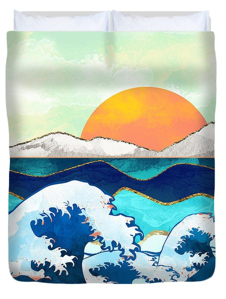 Stormy Waters Duvet Cover