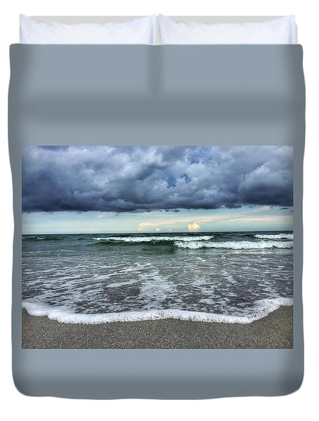 Stormy Waves Duvet Cover