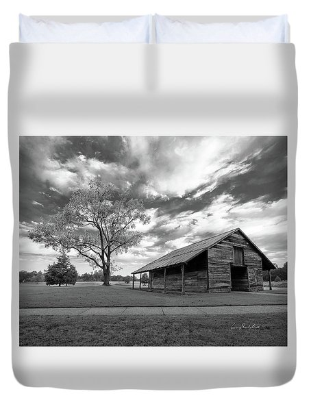 Duvet Cover featuring the photograph Stormy Weather by George Randy Bass