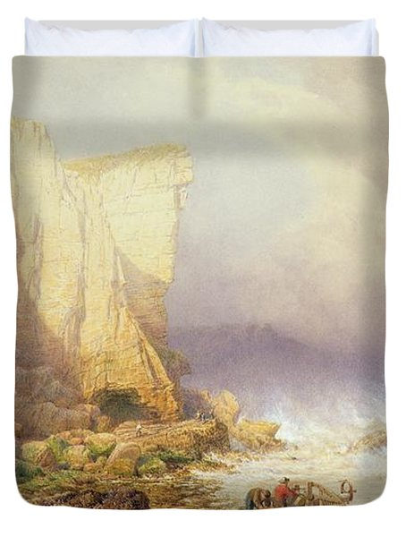 Stormy Weather Duvet Cover by John Mogford