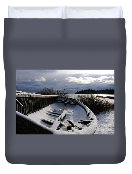 Stormy Weather Duvet Cover by Sandra Updyke