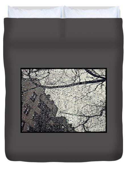 Stormy Weather Duvet Cover by Sarah Loft
