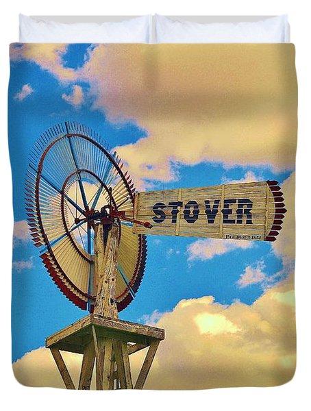 Stover Duvet Cover by Daniel Thompson