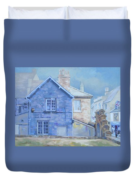 Stow On The Wold Duvet Cover by Carol Strickland