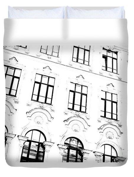 St.petersburg  #7804 Duvet Cover by Andrey Godyaykin