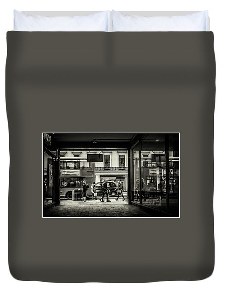 Duvet Cover featuring the photograph Strand by Stewart Marsden