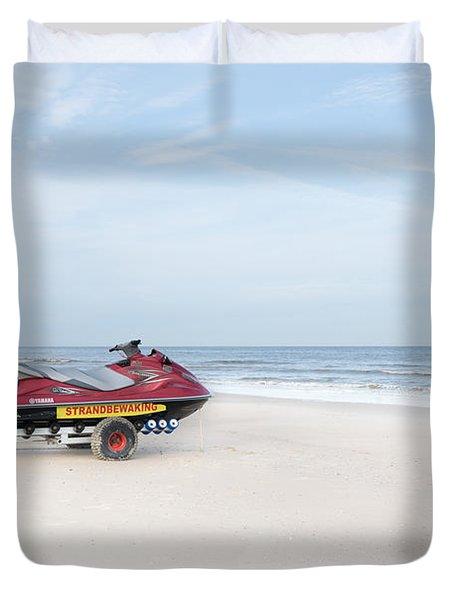 Strandbewaking Duvet Cover
