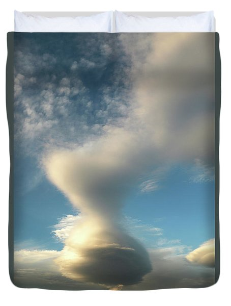 Strange Cloudform Duvet Cover