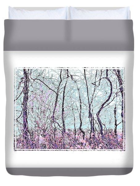 Strange Trees Duvet Cover