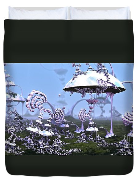 Strange World Duvet Cover