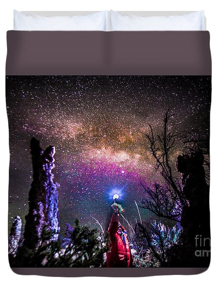 Stranger In A Strange Land Duvet Cover
