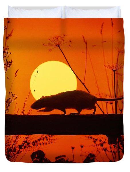 Stranglers Rattus Norvegicus Rat Duvet Cover