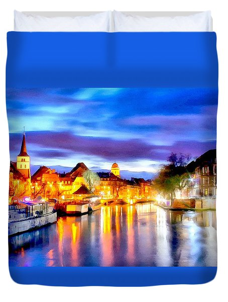 Strasbourg - France Duvet Cover
