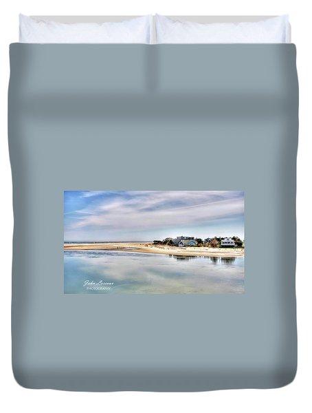 Strathmere Duvet Cover by John Loreaux