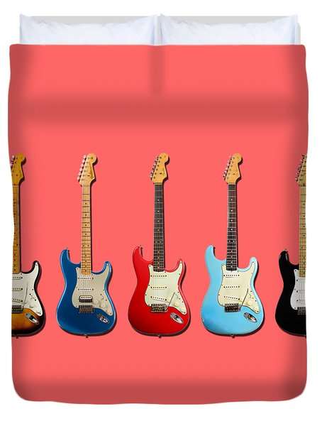 Stratocaster Duvet Cover by Mark Rogan