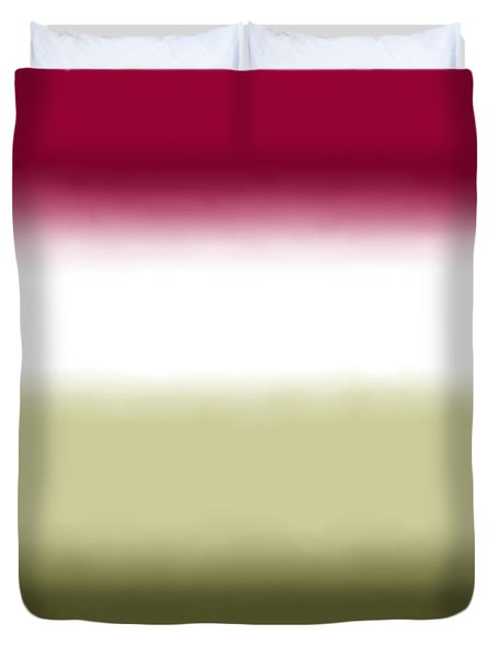 Strawberry - Sq Block Duvet Cover
