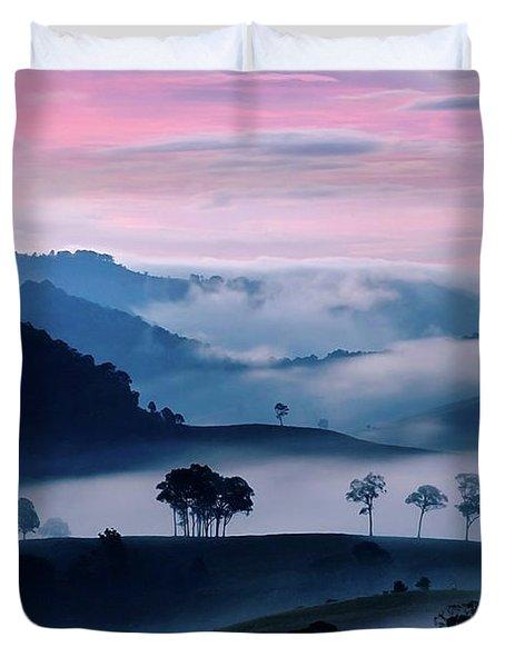 Strawberry Fields Duvet Cover by Az Jackson