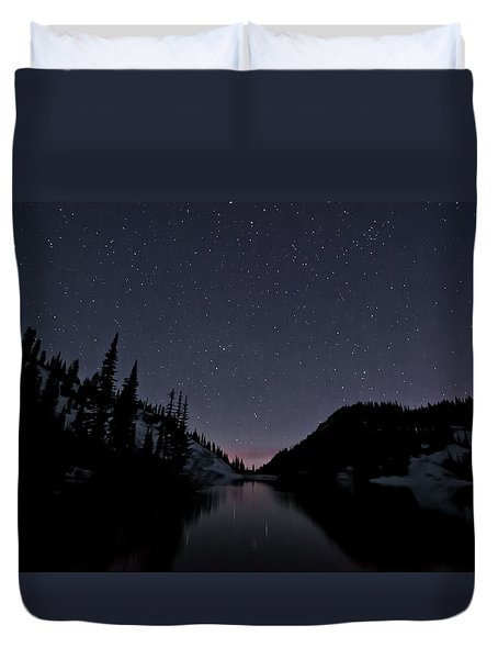 Strawberry Lake Duvet Cover