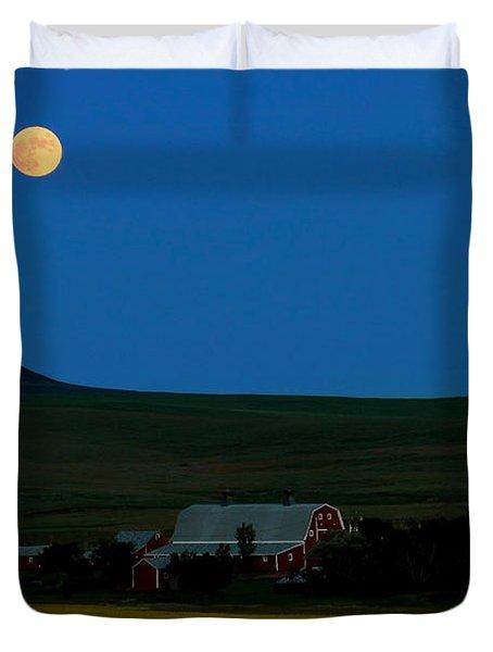 Strawberry Moon Duvet Cover