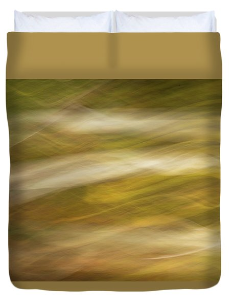 Streaks Of Color H Duvet Cover