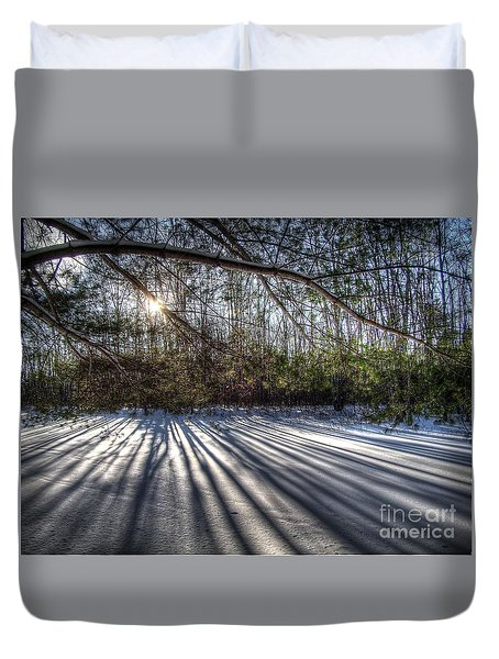 Streaming Duvet Cover