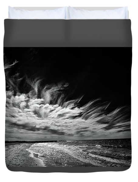 Streaming Clouds Duvet Cover