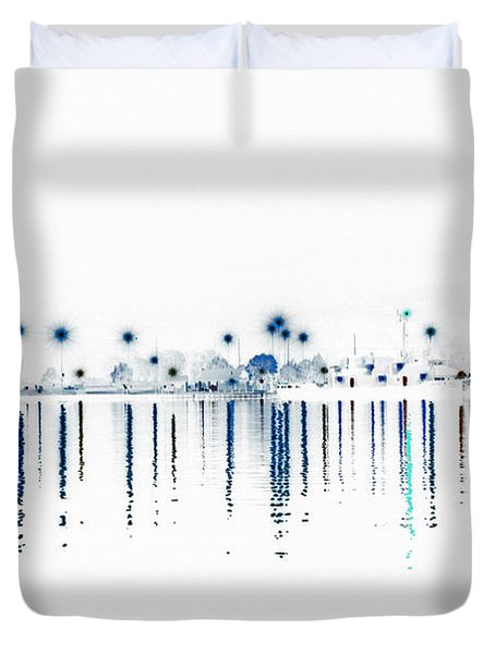 Streaming Lights Duvet Cover