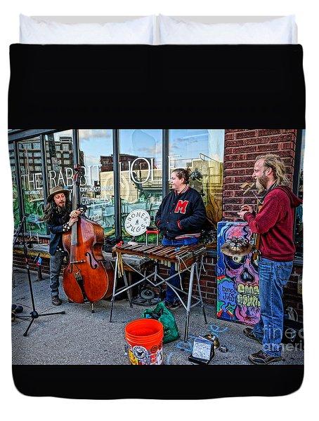 Street Band Duvet Cover