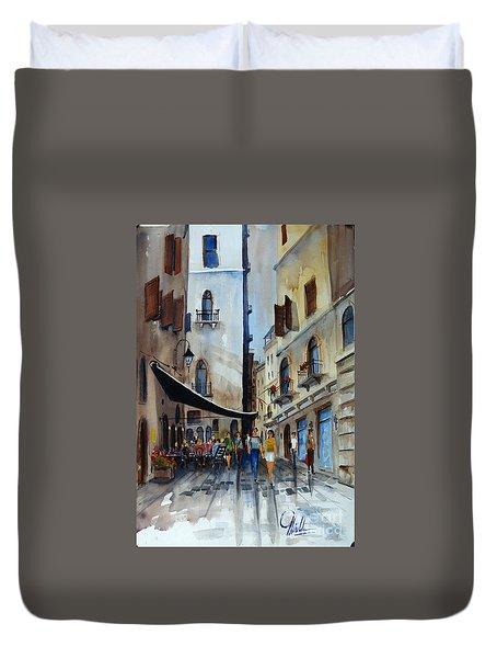Taverna D' Strada Duvet Cover