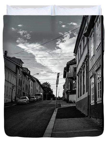 Street In Toyen Duvet Cover
