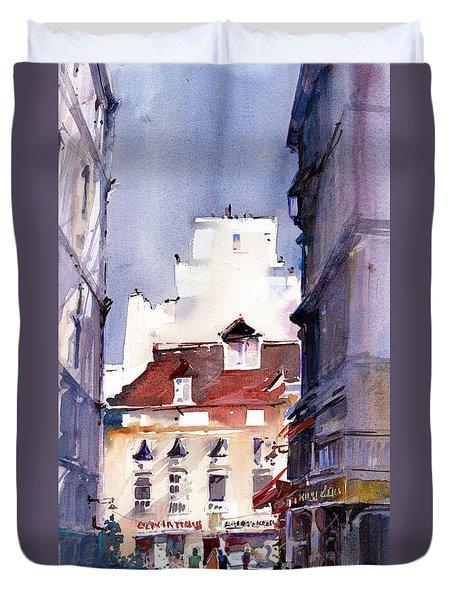 Parisian Stroll Duvet Cover