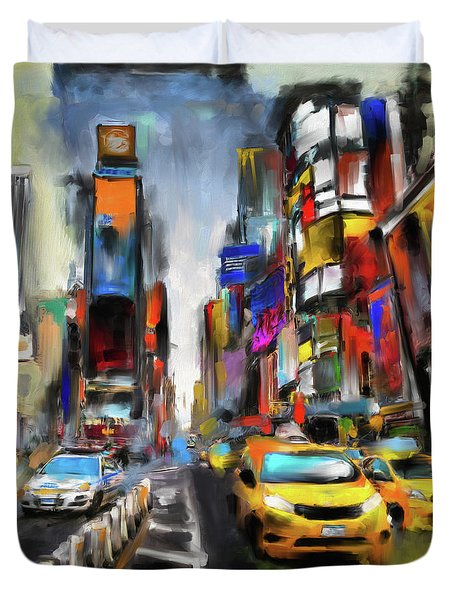 Street Symphonies V 462 1 Duvet Cover
