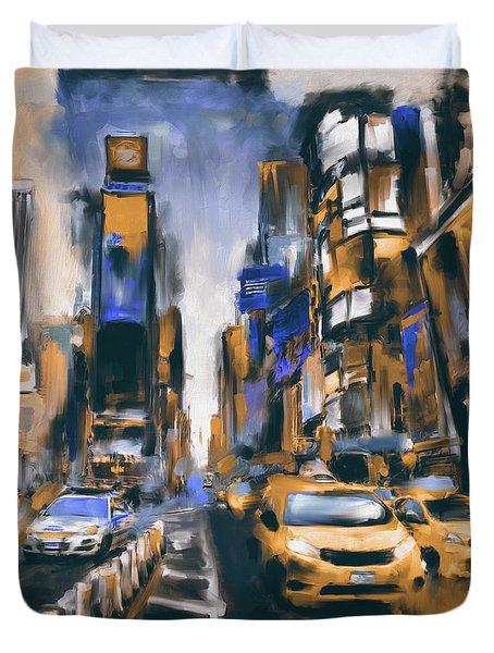 Street Symphonies V 462 4 Duvet Cover