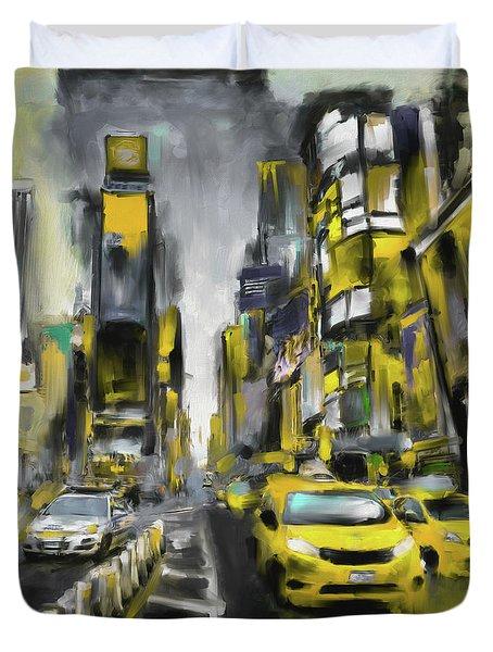 Street Symphonies Vi 462 I Duvet Cover