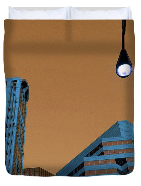Street View Duvet Cover by Karol Livote