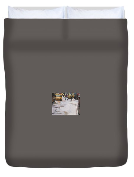 Street Wise Duvet Cover