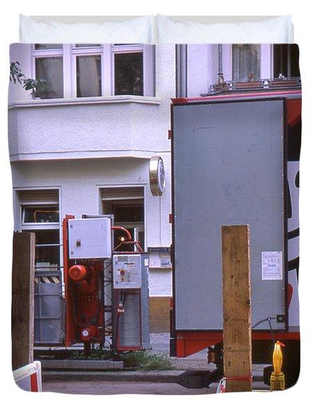 Street Works Duvet Cover