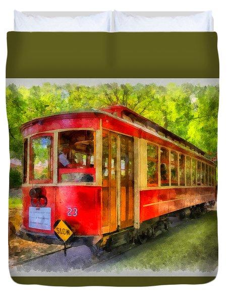Streetcar 23 Duvet Cover